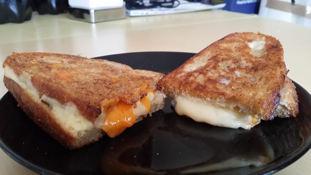 Oozing Grilled Cheese